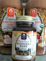 Mangosteen is anti inflammatory. Magnolia Bark limits cortisol.