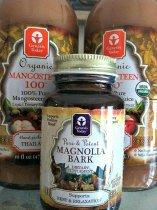 Mangosteen is anti inflammatory. Magnolia Bark limits cortisol.