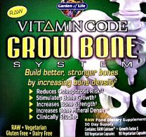Gluten free Grow Bone Calcium by Garden Of Life