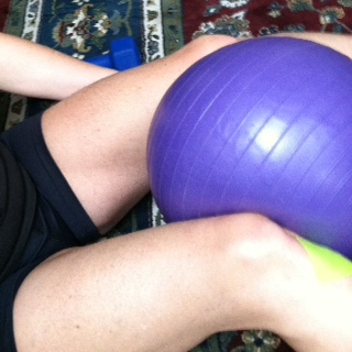 Using compression for fibromyalgia exercises