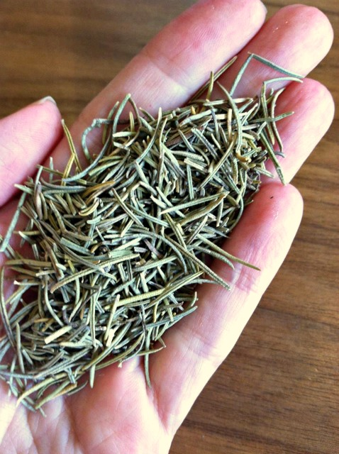 Rosemary. Great for inflammation, to strengthen hair, and mild liver support.