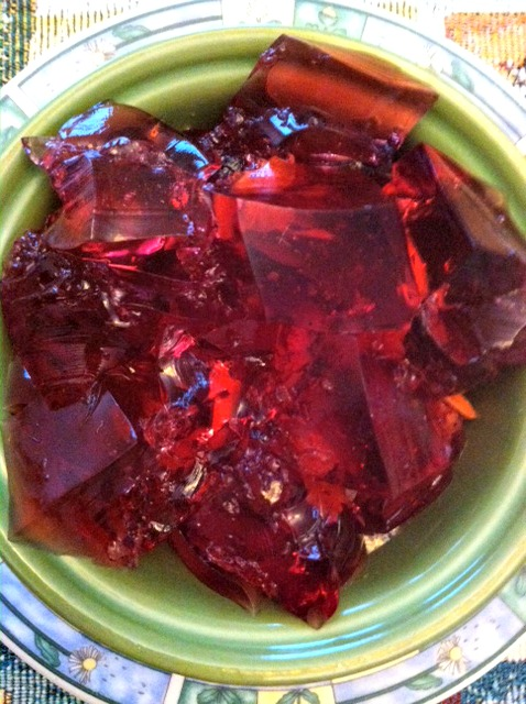 fibro-girl's joint jello for joint health.