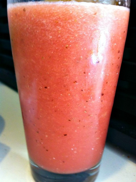 Watermelon Seed Smoothie..