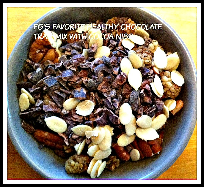 Healthy Chocolate Trail Mix