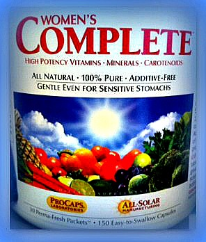The BEST multi-vitamin: no fillers, binders, colors, preservatives, gluten, milk, or soy.