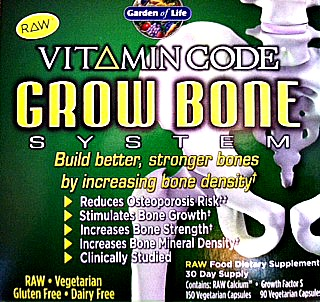 Gluten free Grow Bone Calcium by Garden Of Life