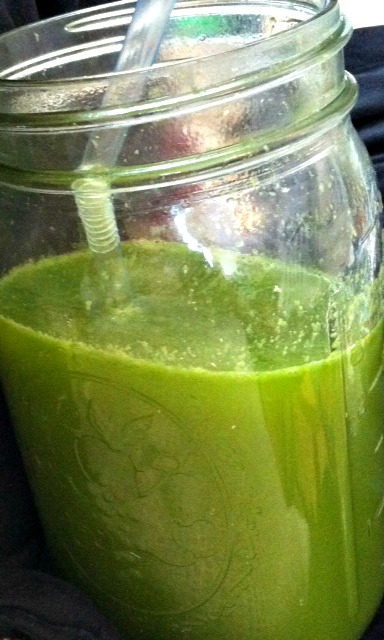 A cleansing neutral juice recipe without fruit sugars