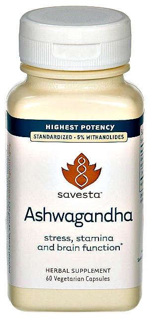 Ashwagandha) for reducing stress on the adrenals and thyroid.