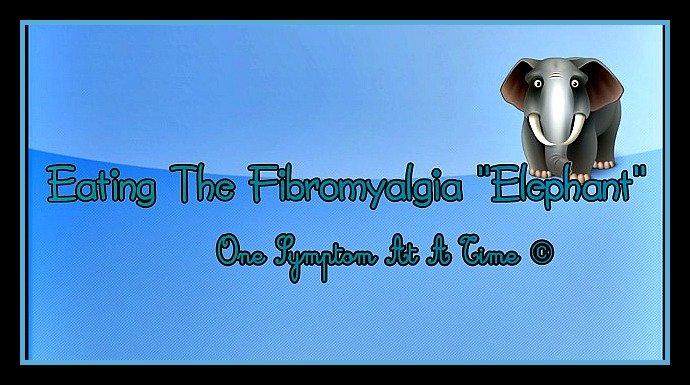 Eating the fibromyalgia elephant one symptom at a time.