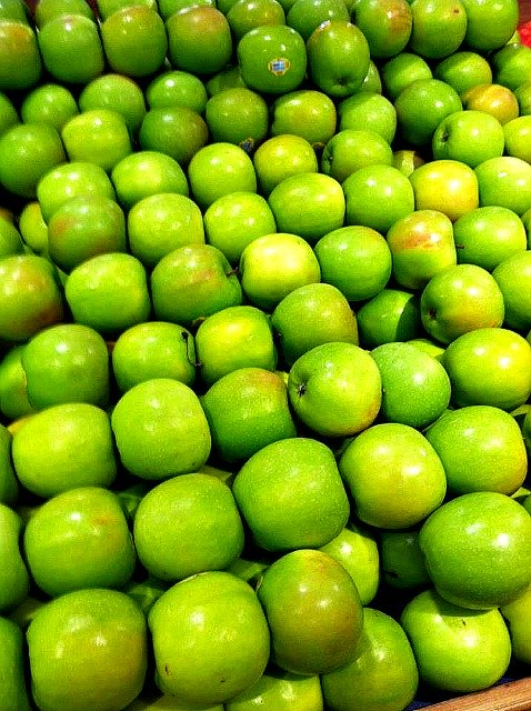 low glycemic Granny Smith apples