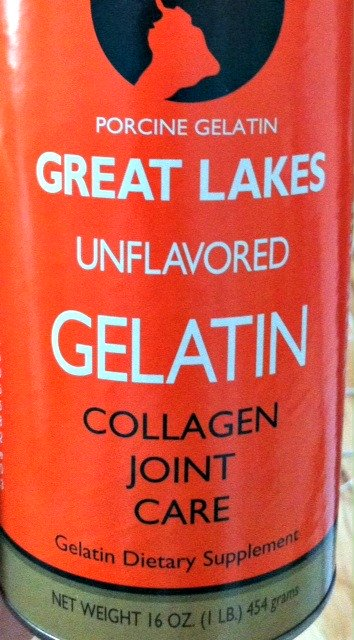Great Lakes Gelatin for joint health.