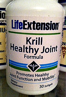 Research has shown krill oil to be especially effective for joint health.