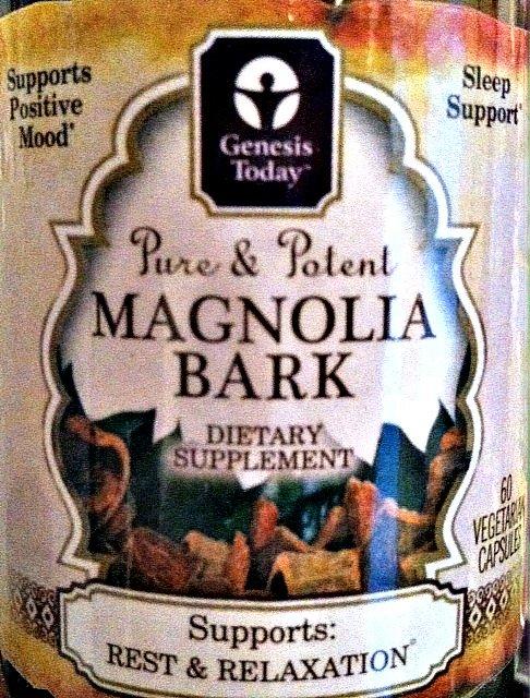 Magnolia Bark for anxiety