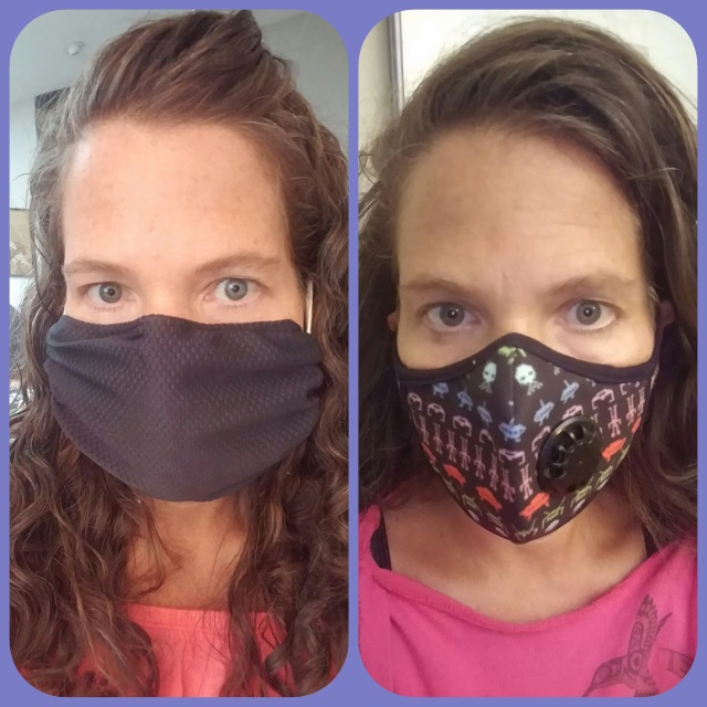 Stylish masks are available for those with MCS