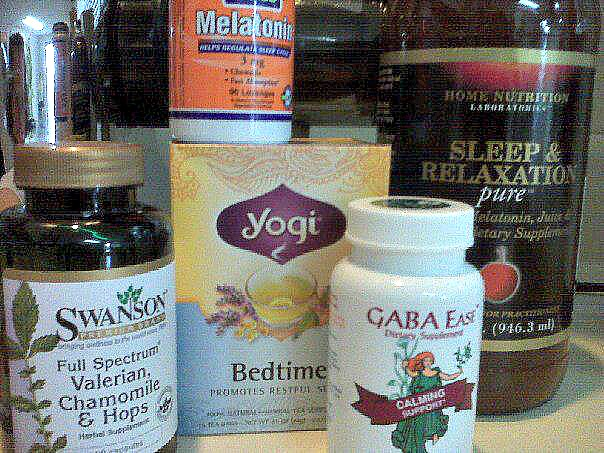 Utilize natural Rxs if sleep does not come easy.