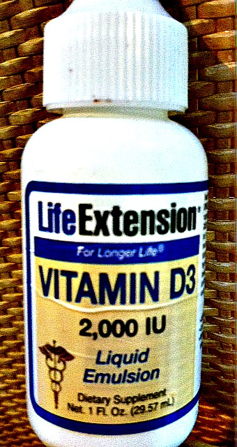 Easy to absorb LIQUID vitamin D emulsion.